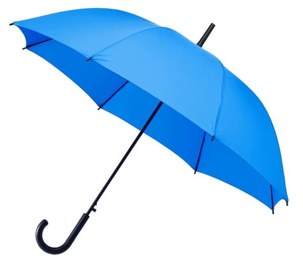 paraplu l blauw